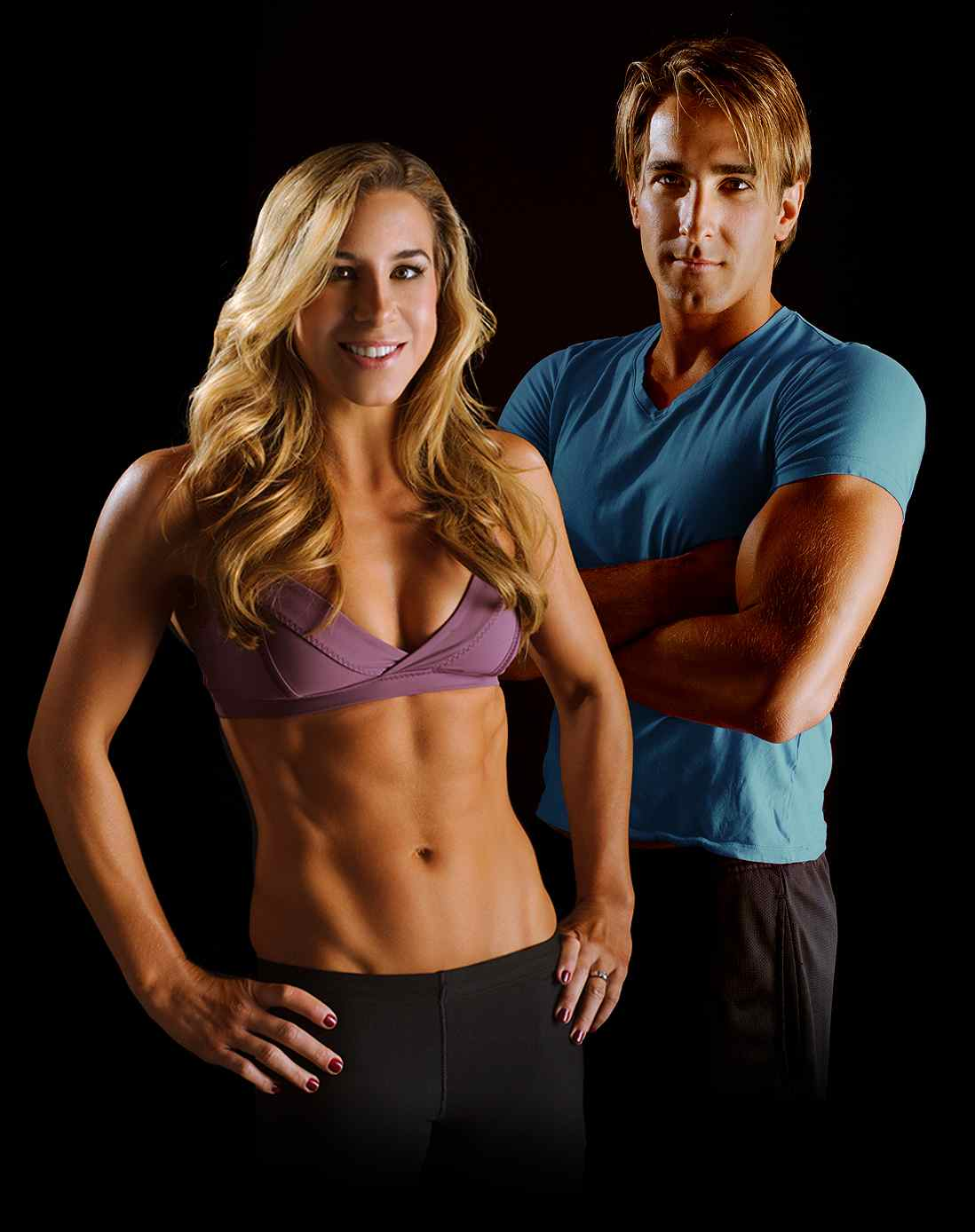 Fitness Experts Whitney and Byron