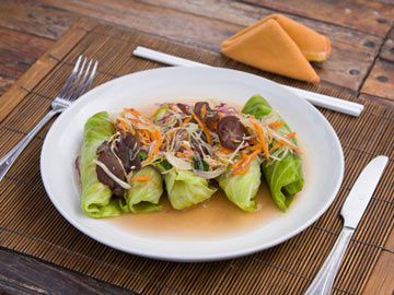 Asian Lettuce Wraps - Gluten Free