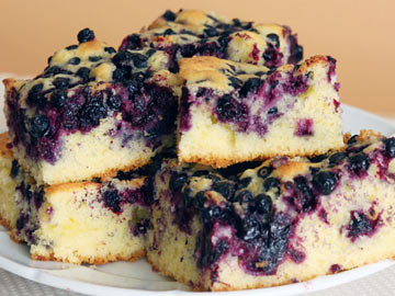 Blueberry Coffee Cake - Dietitian's Choice Recipe