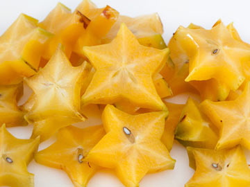 Broiled Star Fruit with Vanilla Frozen Yogurt - Dietitian's Choice Recipe