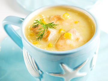 Cheese and Corn Chowder