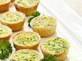 Quiche Mini Cups GF