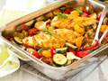 Veggie Chicken Bake